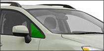 passenger side vent glass